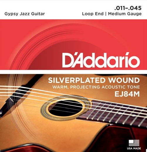 DAddario - EJ84M Gypsy Jazz Medium