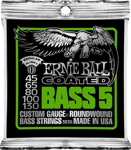EB3836 Bass Slinky Coated 5S