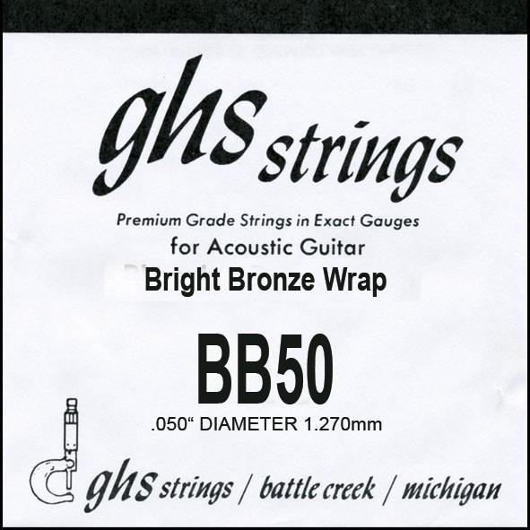BB50 Bright Bronze 050 wound