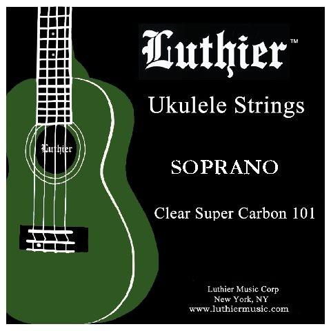 Luthier - Soprano Ukulele High G Carbon