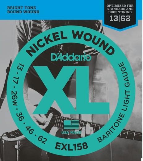 DAddario - EXL158 Baritone Light