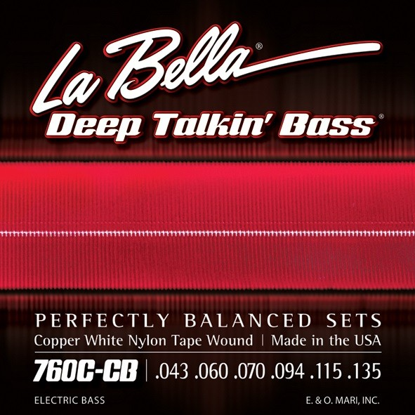 La Bella - 760CCB White Nylon Tape 43 135