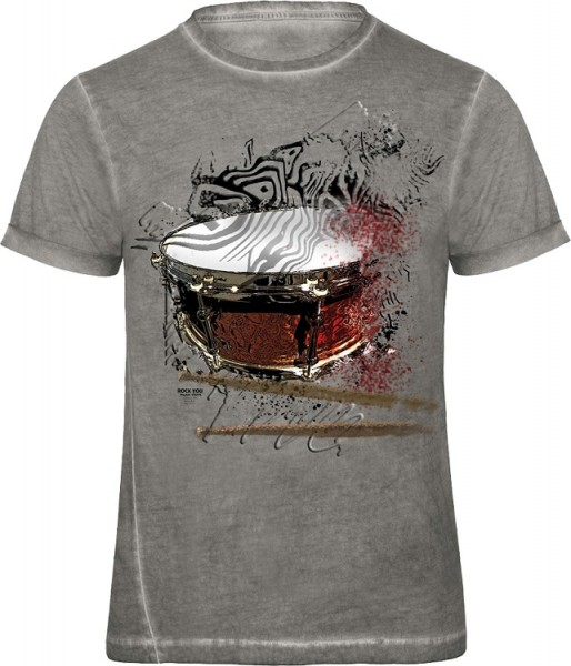 Rock You - T-Shirt Busted Snare M
