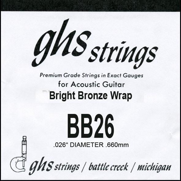 GHS - BB26 Bright Bronze 026 wound