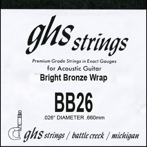 GHS - BB26 Bright Bronze 026 wound
