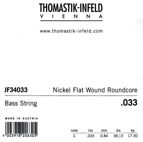 JF34033 High C Flatwound .033