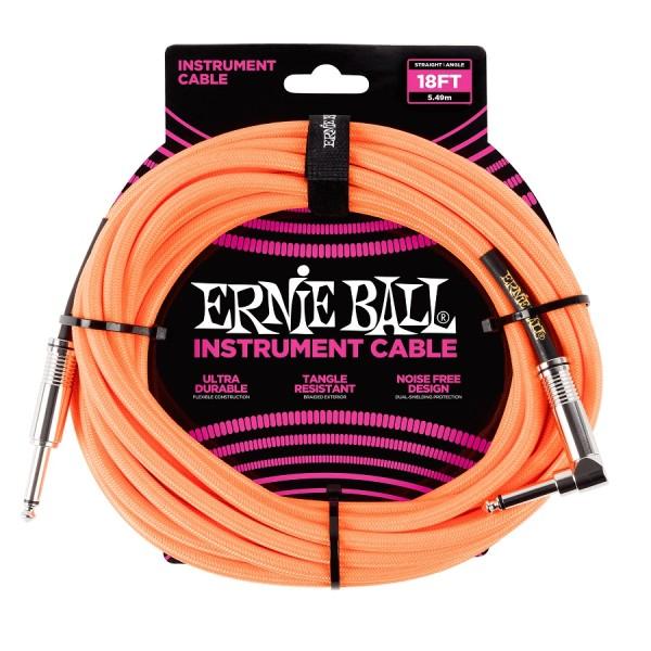 Ernie Ball - EB6084 Kabel 5,49m gelb K WK