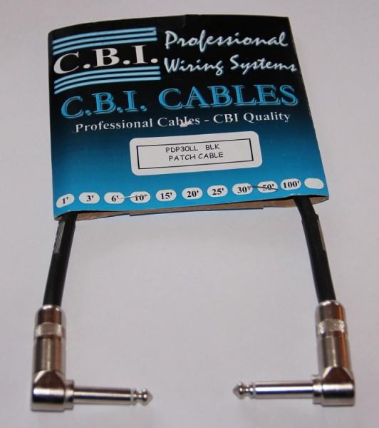 CBI - PDP30LL Patchkabel 30cm black