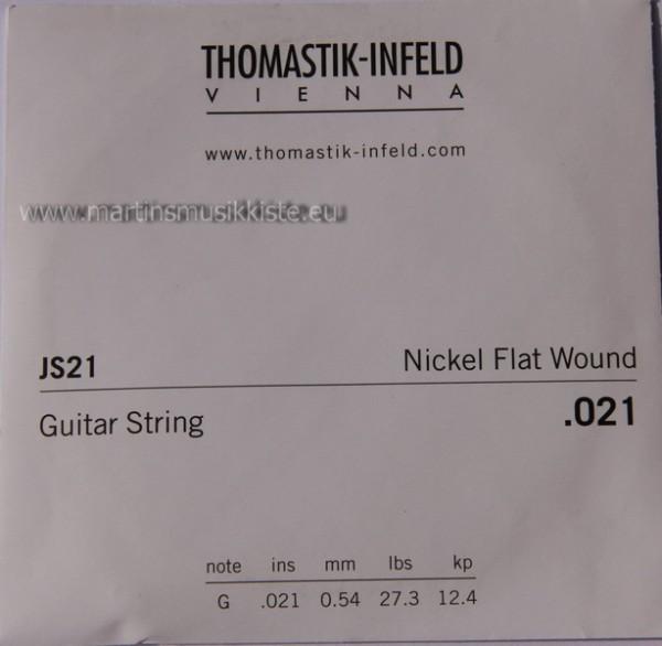 JS21 Nickel Flatwound 021w