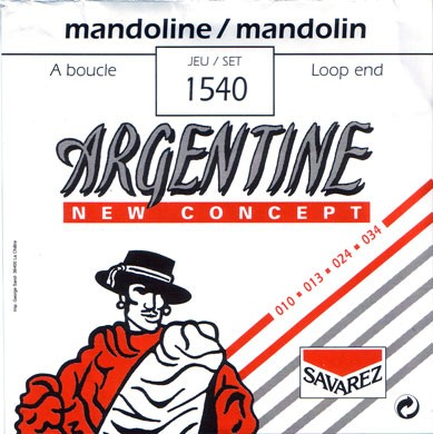 Savarez - 1540 Argentine loop end