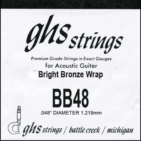 GHS - BB48 Bright Bronze 048 wound