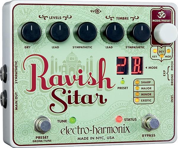 Electro Harmonix - Ravish Sitar Simulator