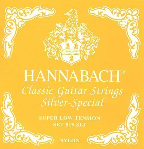 Hannabach - 815SLT Silver Special gelb