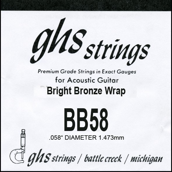 GHS - BB58 Bright Bronze 058 wound