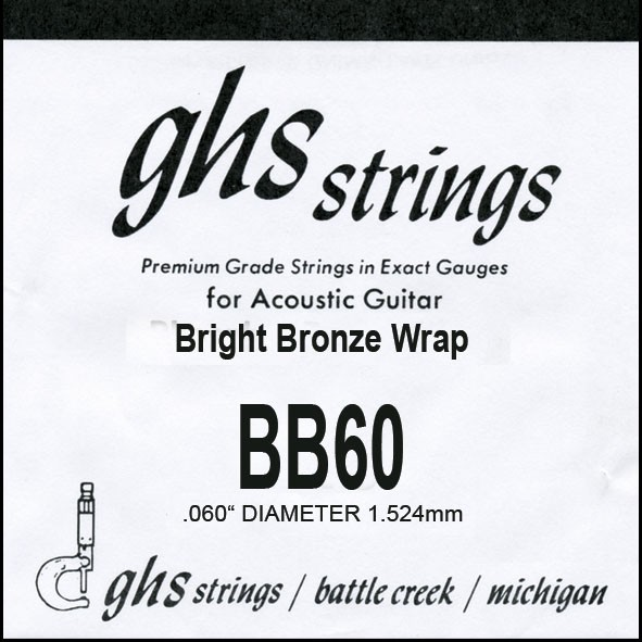 GHS - BB60 Bright Bronze 060 wound
