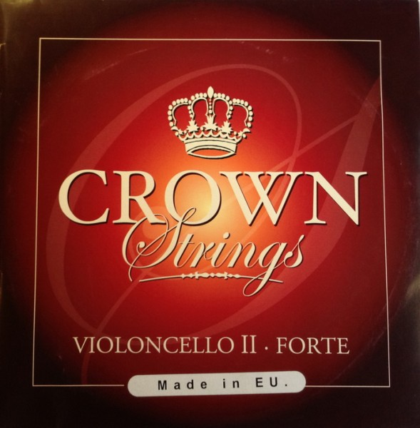 CROWNbyLARSEN - Cello Forte D 4/4 Chromstahl
