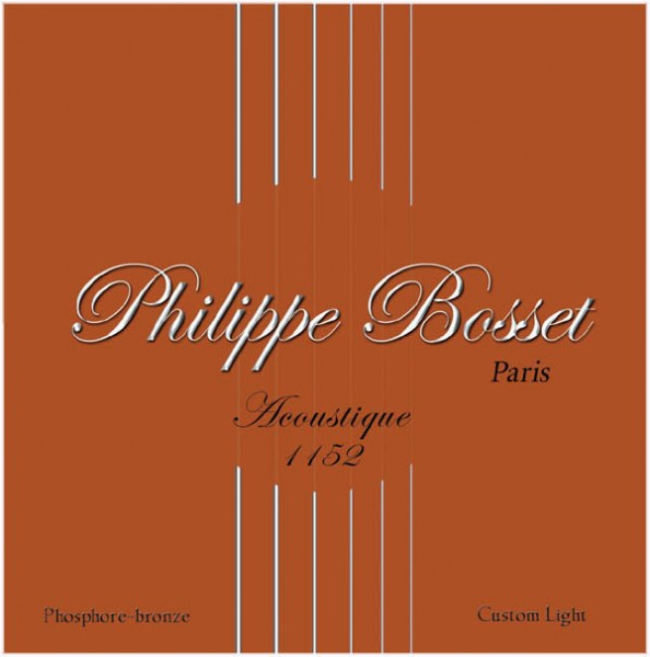 Philippe Bosset - Acoustique 1152 PhosphorBronze
