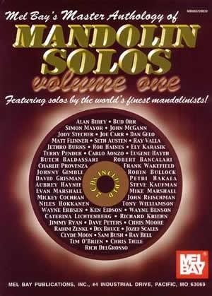 Mel Bay - MB98372M Mandolin Solos Master