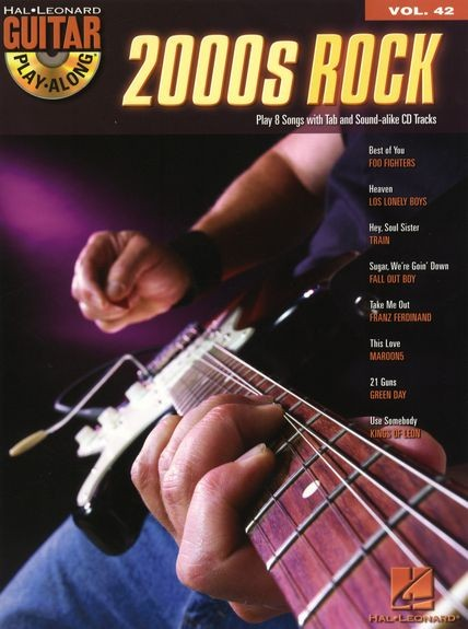 HAL LEONARD - HL00699670 2000s Rock Vol 42