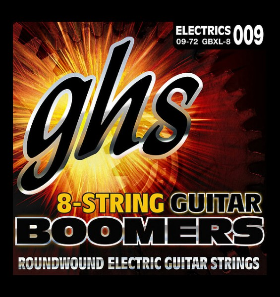 GHS - GBXL-8 Boomers 8string