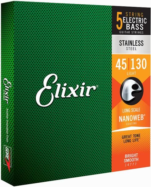 Elixir - 14777 Nanoweb Stainless Med Li